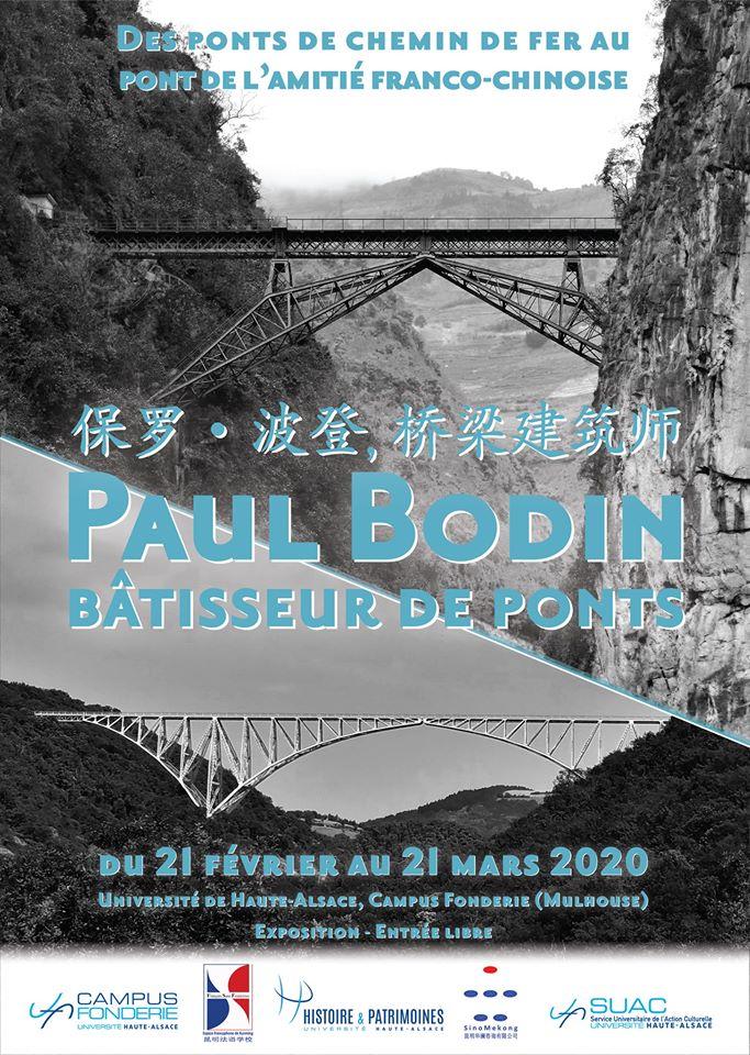Exposition M. Velot sur Paul BODIN